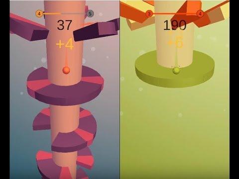 《Helix Jump》手機遊戲玩法與攻略教學!