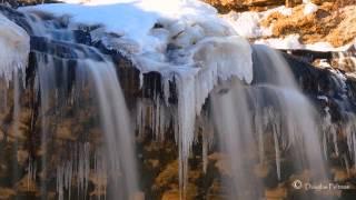 Cascade Falls Osceola Wisconsin time lapse