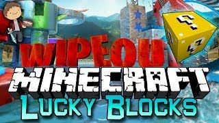 Minecraft: Lucky Block WIPE OUT! Modded Mini-Game w/Mitch&Friends!