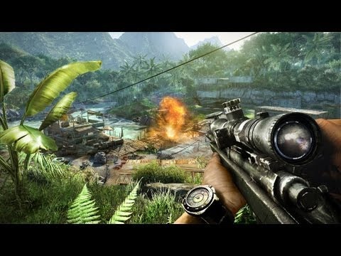 Fresh Far Cry 3 Video Focuses on Weapons and Abilities