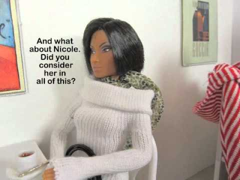 A Barbie Fashion Doll Video: Ep #39 Rod Breaks The News to Melanie
