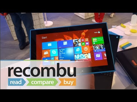 Nokia Lumia 2520 hands-on video