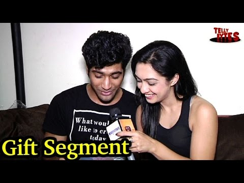 Sanam Johar and Abigail Pandey receive gifts from