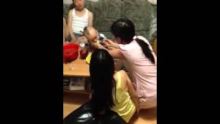 Tuấn Minh , Hoài Nam Sang Nhà ông Bà Trẻ Chơi