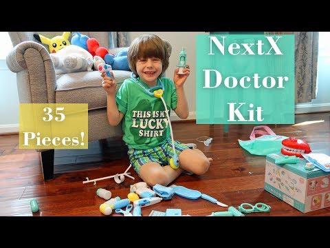 ?NextX Doctor Kit 35 Pieces (Dentist Play, Nurse) Medical Kit Pretend Play Toy Review! ??_Ön is fél a fogorvosnál? De mit csinálnak mások?