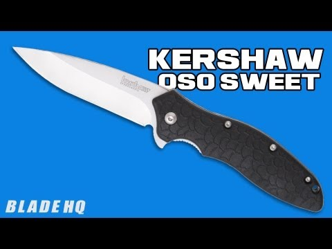 "Kershaw Oso Sweet Spring Assisted Knife (3.05"" Satin Plain) 1830"