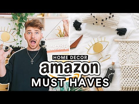 THE BEST AMAZON HOME DECOR  DIY HACKS Affordable  Aesthetic  Lone Fox