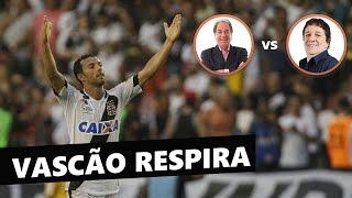 Vascão ainda vive no Brasileirão ! Vasco 1 x 0 Santos. Veja o gol de Nenê, com as narrações de José Carlos Araújo, o Garotinho,...