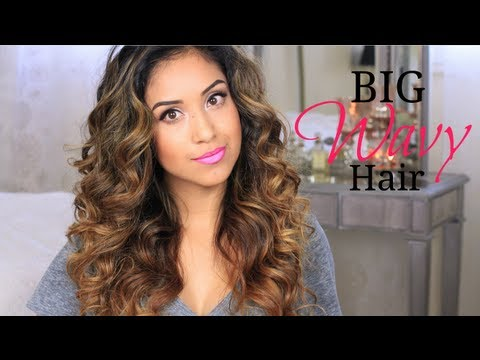 wavy hair - Hi guys! I've been rocking my hair like this for the past few months and I've been getting TONS of requests for a tutorial. So finally, here it is! Enjoy. XO...