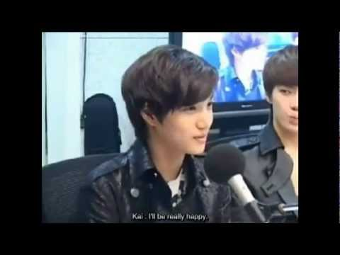 120515 EXO-K KAI's Ideal Type Cut @ Younha's Starry Night Radio (видео)