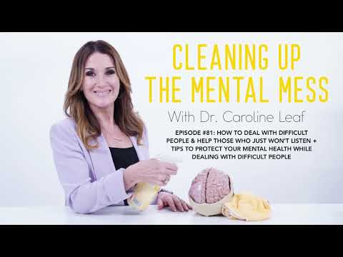 Podcast #81: How to deal with difficult people + tips to protect your mental health