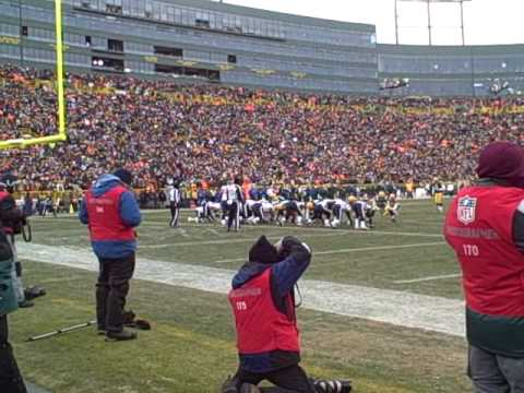 Straight No Chaser - Lambeau Leap at the Packers Game