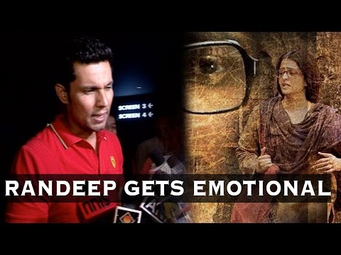 Randeep Hooda Speaks About Sarbjit's Heart Touchin