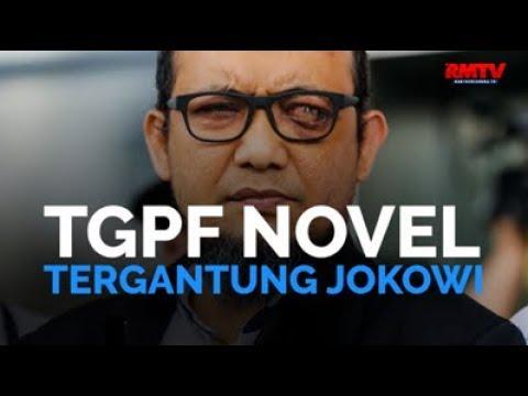 TGPF Novel Tergantung Jokowi