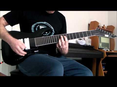 ESP Stef B8 - Deftones - Kimdracula, 8 String Guitar Cover