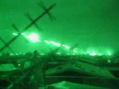 MH-60L on a gun run