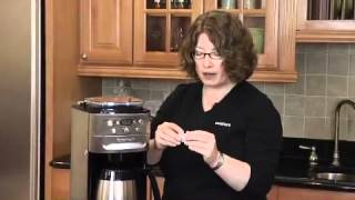 Burr Grind & Brew Thermal™ 12-Cup Automatic Coffeemaker Demo Video Icon