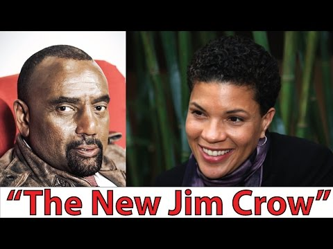 """The New Jim Crow"" Michelle Alexander VS. Jesse Lee Peterson on Mass Incarceration"