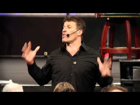 Anthony Robbins: Tony Talk - Change how you feel and you change your life