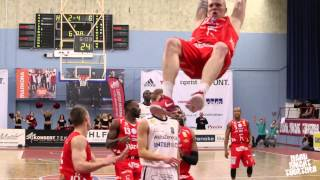 Uppsala Basket Top 1o dunks