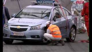 FIA WTCC 2009 Pau - Safety Car Crash