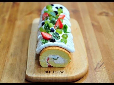 HOT HOT - Cách làm bánh kem cuộn trái cây mềm mại tươi mát