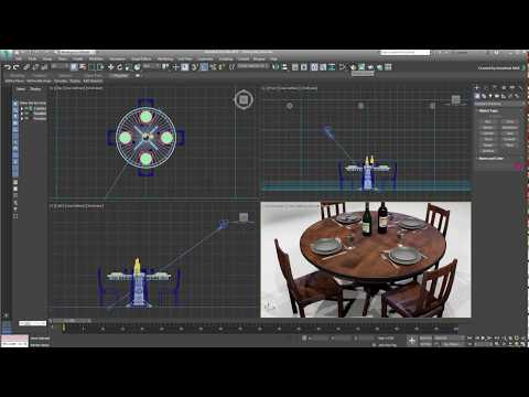 3ds Max 2018 - MAXtoA Plugin - Arnold Basics - Part 1/4
