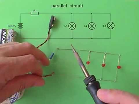 Parallel circuit - 3 LEDs & 0 switches