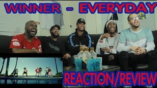 WINNER - EVERYDAY M/V REACTION/REVIEW