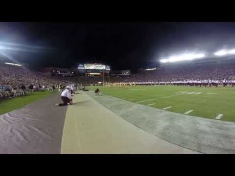 chiefs - Beyonce Music Show by the Marching Chiefs of Florida State University. GoPro worn by assistant drum major Matthew Tenoré.