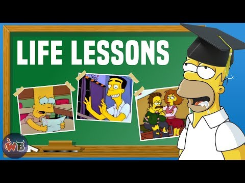 10 Life Lessons The Simpsons Taught Us