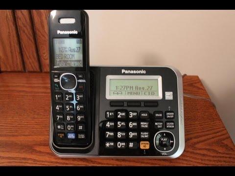 Panasonic Digital Cordless Answering System - Model KX-TG6845