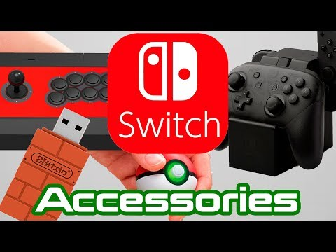 More Nintendo Switch Accessories In 2018