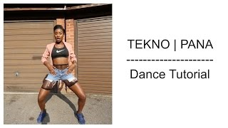 Tekno - Pana Dance Tutorial | Dance Challenge | Choreography by @itsjustnife | Chop Daily Video
