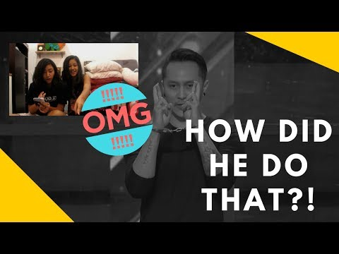 Demian Aditya: Escape Artist Risks His Life During AGT Audition REACTION! | randomlysm (видео)