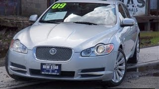 2009 Jaguar XF Series Premium Luxury Sedan