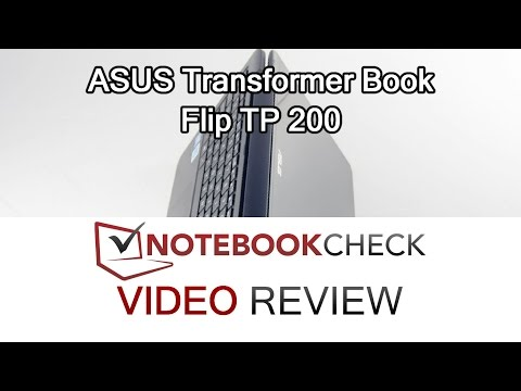 ASUS Transformer Book Flip TP200 Review and test results