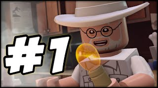 LEGO Jurassic World  PART 1  PROLOGUE Gameplay Walkthrough HD