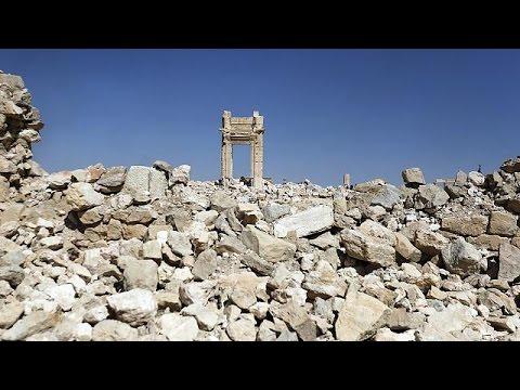 Συρία: Θάνατο και τρόμο άφησε πίσω του το ΙΚΙΛ στην Παλμύρα