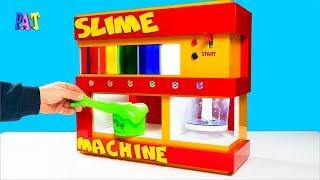 Unhas de gel - diy как сделать слайм-машину!как сделать лизун одним пальцем! diy how to make a slime machine!