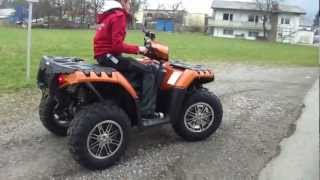 7. POLARIS SPORTSMAN 850 XP EPS FOREST LIMITED EDITION CRAZY ORANGE