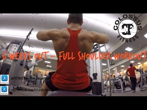 7 Weeks OPA Physique – Full Shoulder Workout