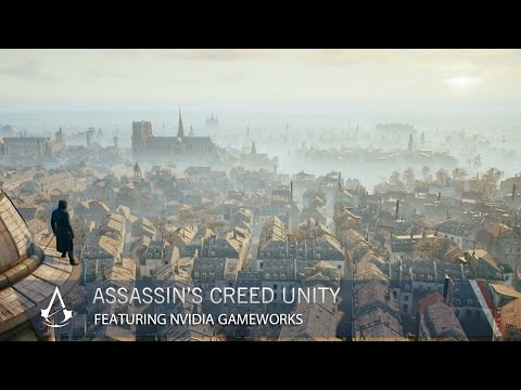 nvidia - Enjoy Nvidia GameWorks features in the PC version of Assassin's Creed Unity. Discover breathtaking Paris thanks to an experience enhanced by Nvidia technology. Please SUBSCRIBE and visit...