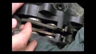8. How to Replace the Brake Pads on a 2008 Harley Davidson Road Glide