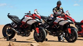 9. 2016 NEW DUCATI MULTISTRADA 1200 S PIKES PEAK - on road, in action...