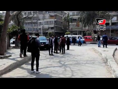شهود عيان يروون تفاصيل انفجار شارع الجزائر بالمعادي