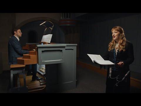 Sigfrid Karg - Elert - Abendstern op. 98, Nr. 1, Carine Tinney - soprano, Martin Gregorius - organ