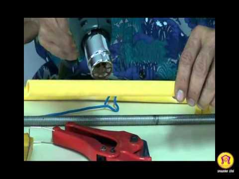 สปริงดัดท่อ และเครื่องมือในการตัดท่อ พีวีซี ในงานไฟฟ้า