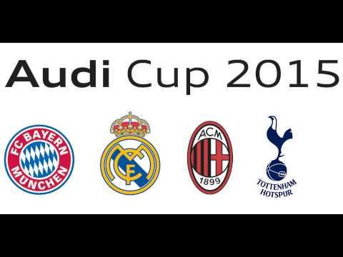 ลิ้งค์ดูบอลสด AUDI CUP 2015 ผ่านเน็ตออไลน์ฟรี HD
