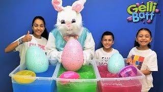 Easter Egg Hunt Surprise Toys In Gelli Baff Kids